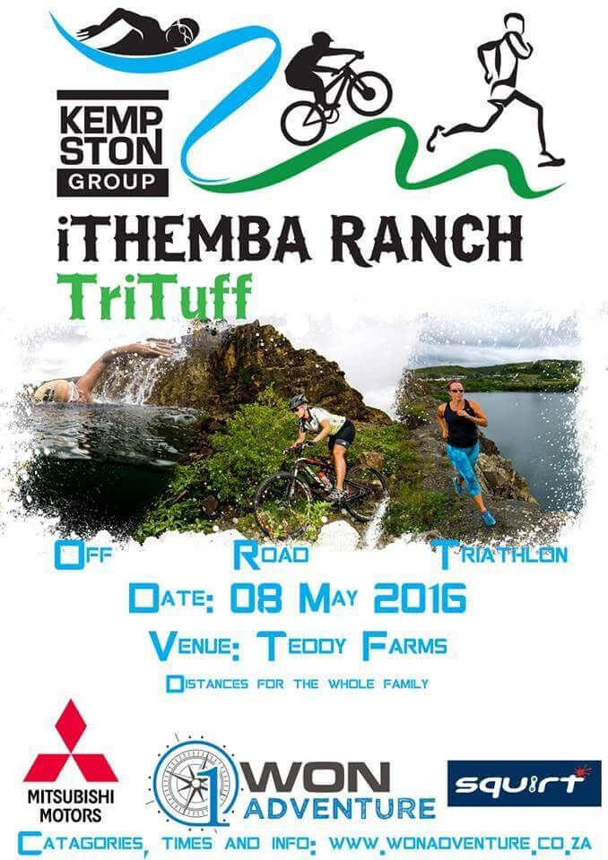 Kempston iThemba Ranch TriTuff 2016