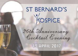 St Bernard's Hospice Cocktail Evening