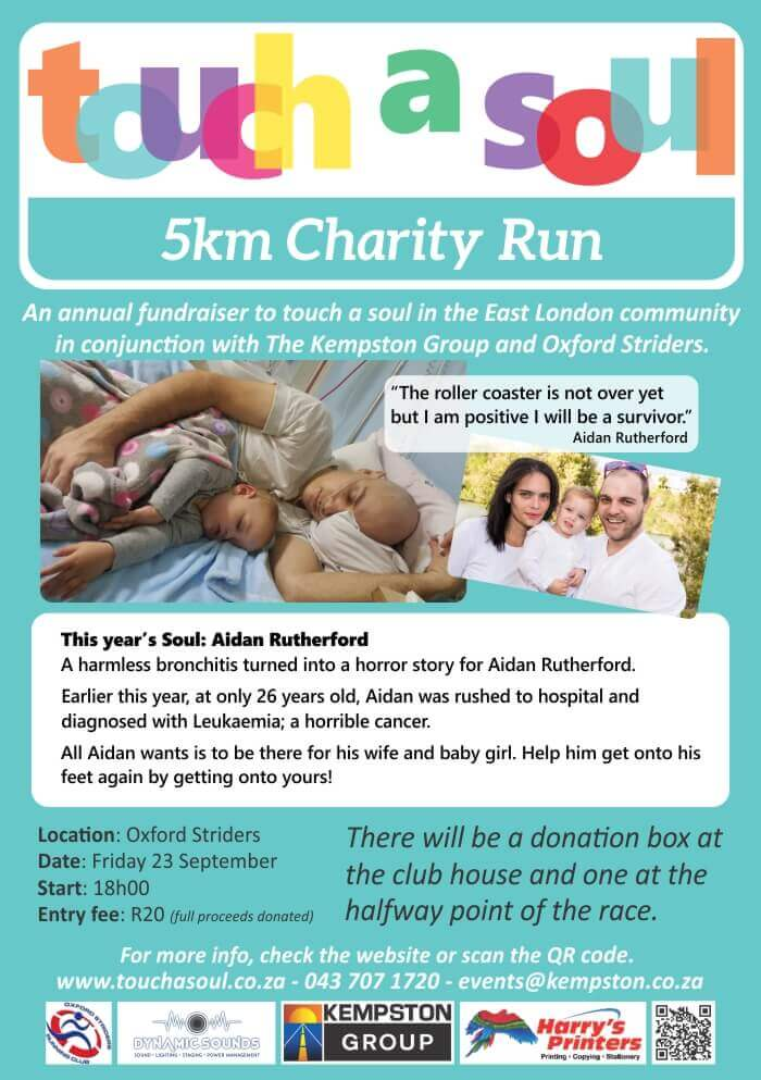 Touch a Soul 5km Charity Run
