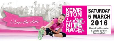 Kempston Ladies Nite Race – 2016